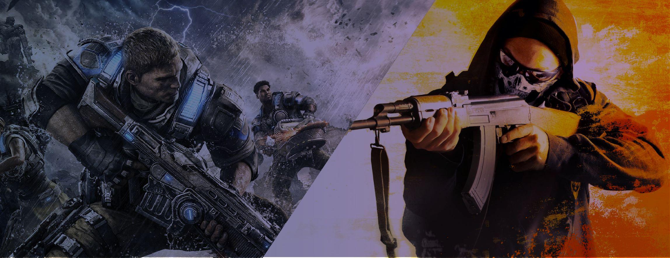FPS Night - CSGO 1v1 & Gears of War 1v1 | Esports in Las Vegas