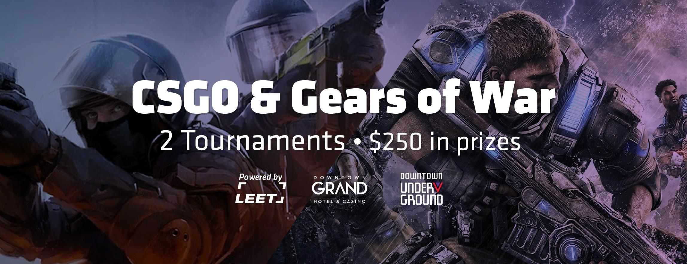 CS:GO and Gears of War 1v1 | Esports in Las Vegas