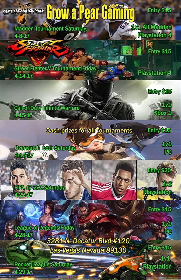 Killer Tournament Overwatch and Call of Duty Infinite Warfare