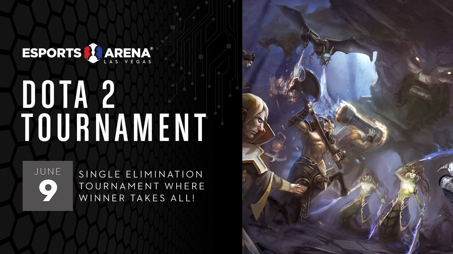 Dota 2 Tournament Esports In Las Vegas