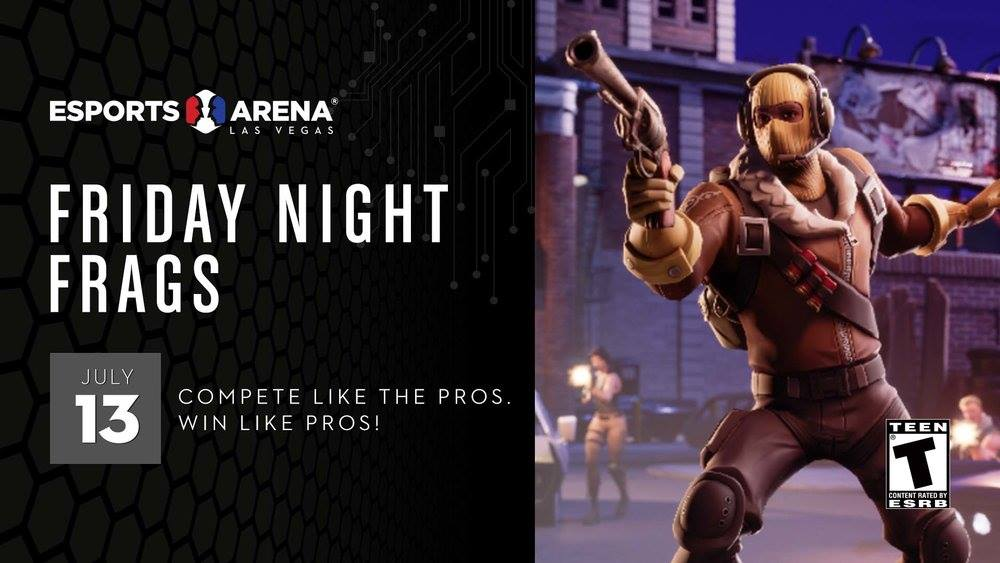 Friday Frags 5 - Fortnite Tournament   Esports in Las Vegas