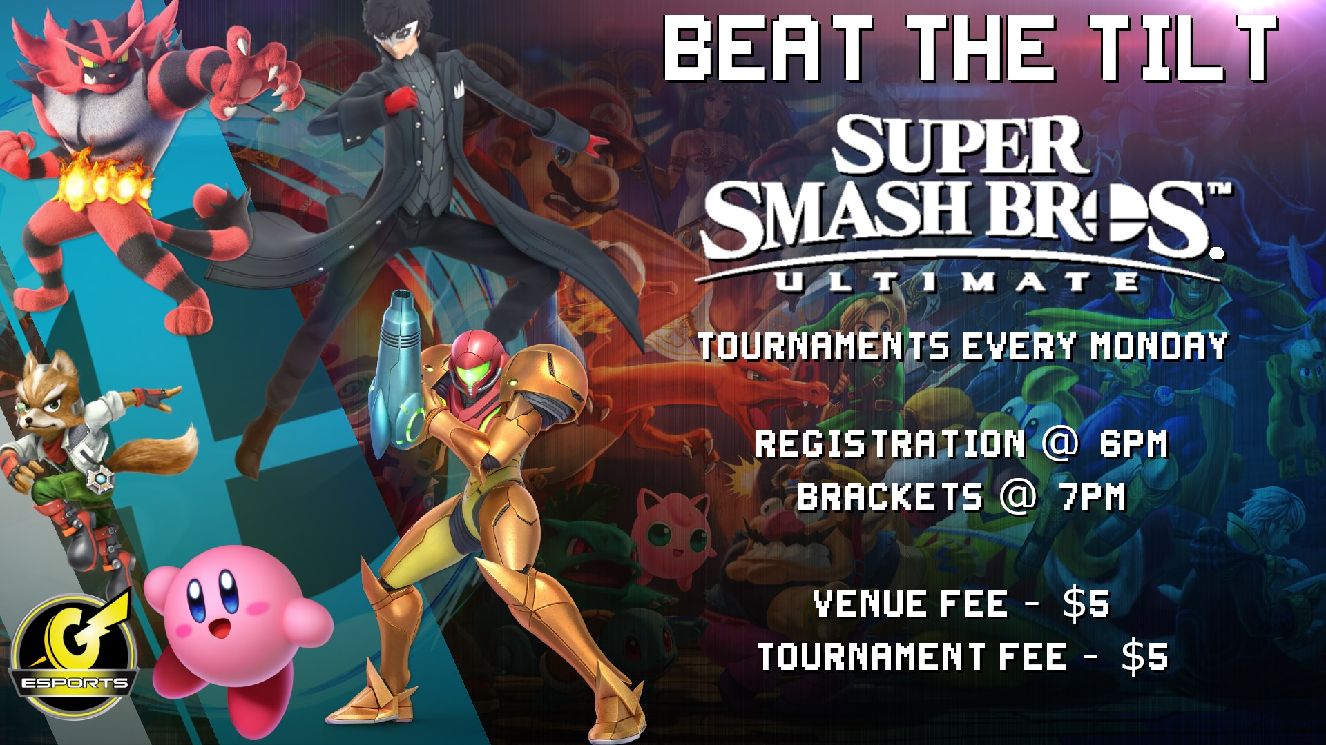 Beat The Tilt - A Super Smash Bros Ultimate Weekly | Esports in Las