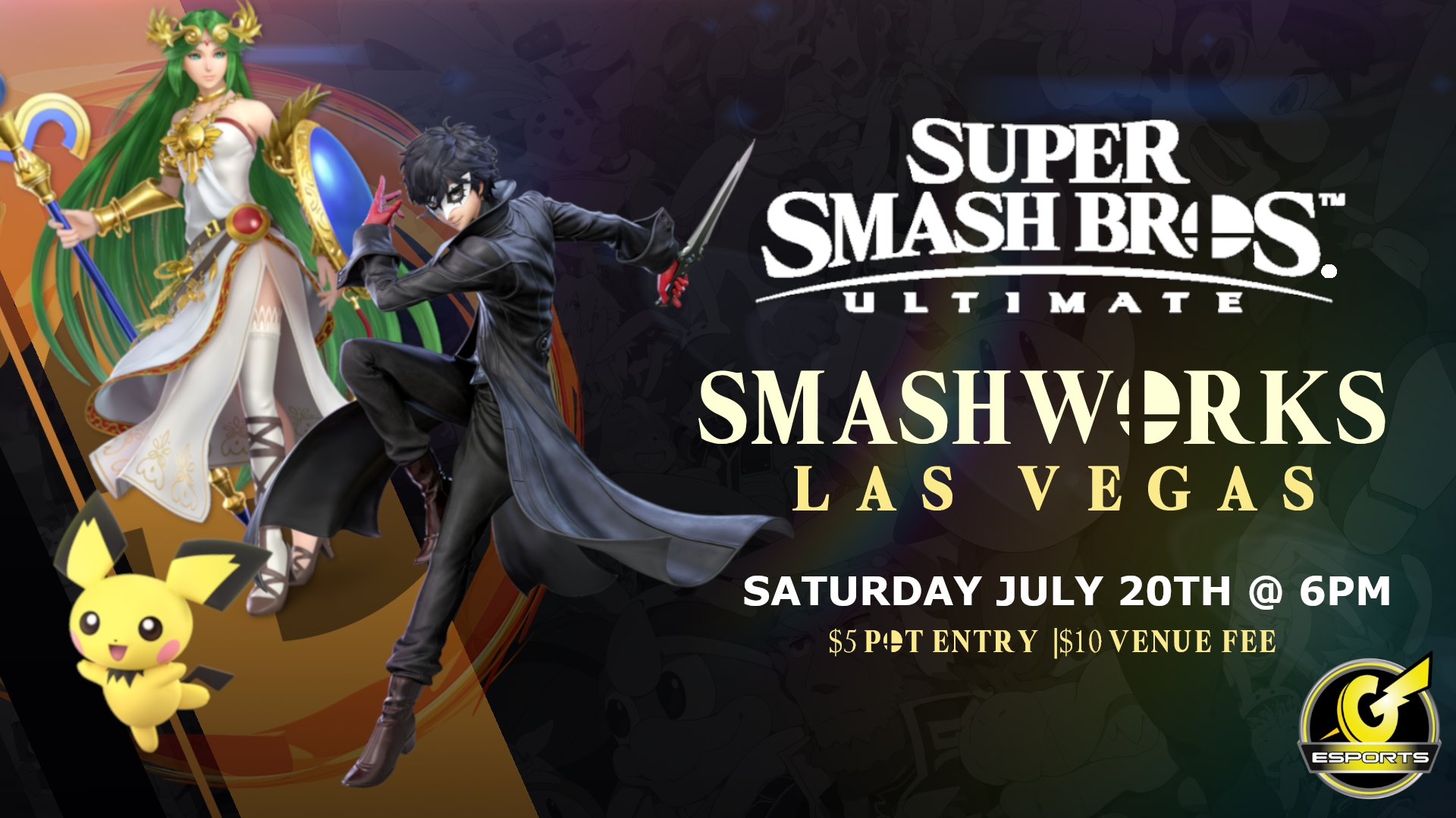 SmashWorks - A Super Smash Bros Ultimate Monthly Tournament